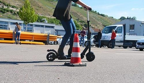 SWE E-Scooter Test